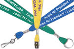 Union Printed Lanyards, Made in USA