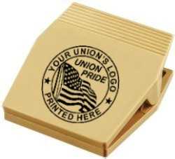 Union Memo Clips, Union Made & Union Printed