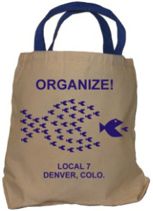 Union Tote Bags, Union Made & Union Printed
