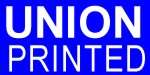 Union Printed - Imprinted  in USA by Americans